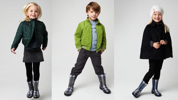 Burberry 2011 Sonbahar Soğuk mevsim çocuk Koleksiyonu